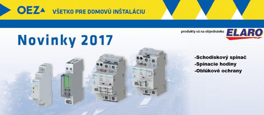OEZ novinky 2017